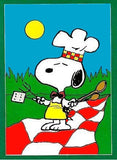 SNOOPY BAR-B-Q Flag