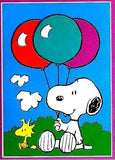 SNOOPY WITH BALLOONS Flag