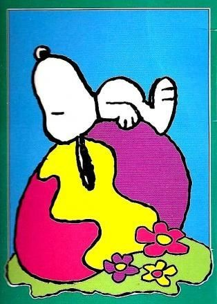 SNOOPY'S EASTER EGG Flag - Reduced Price!