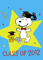 SNOOPY CLASS OF 2012 Flag