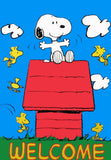 WELCOME SNOOPY Flag