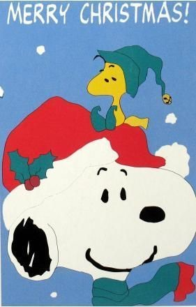 SNOOPY CHRISTMAS Flag