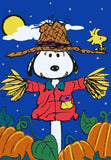PUMPKIN PATCH SNOOPY'S SCARECROW Flag