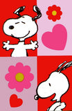 NON-VINTAGE FLAG - SNOOPY LOVE