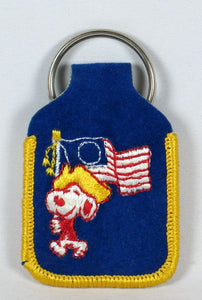 1776 Snoopy Key Ring - Flag Bearer