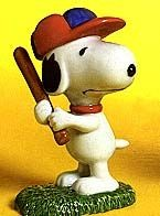 Flambro Baseball Snoopy