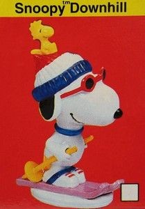 Flambro Snoopy Downhill