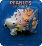 Snoopy and Linus Flambro magnet