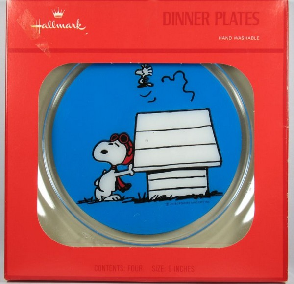 Flying Ace Party Plates