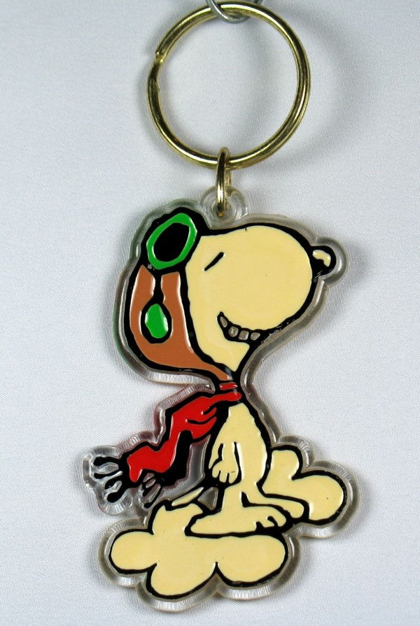 Flying Ace acrylic key chain