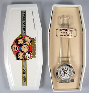 Flying Ace Clear Quartz Watch