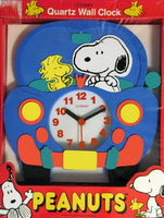 Snoopy's Car Quartz Foam Wall Clock