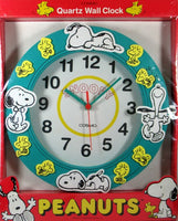 Snoopy and Woodstock Quartz Foam Wall Clock