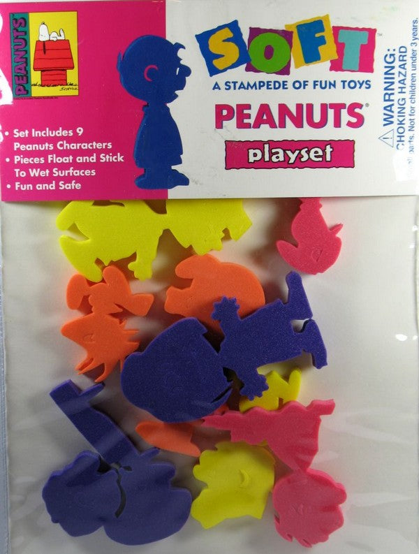 Peanuts Foam Play Set - Characters