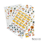 Peanuts Thanksgiving and Fall Scrapbook Foam Embellishments Set