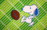 Vintage Peanuts Gang Pillow Case - Football