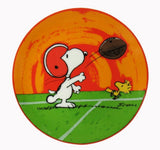 "Snoopy Football Plate - ""Go Deep"""