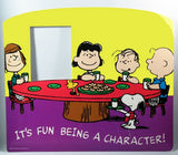 Peanuts Gang Eating Raised Picture Frame