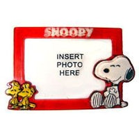 Snoopy and Woodstock Acrylic Photo Magnet