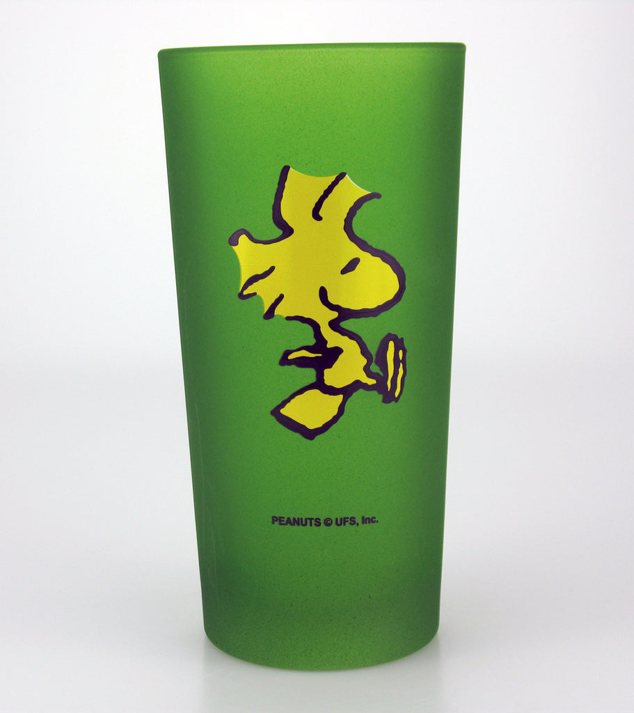 Peanuts Frosted Glass - Woodstock