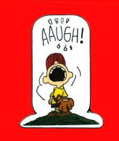 Charlie Brown Aaugh! Pin