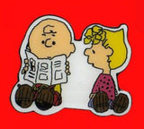 Charlie Brown and Sally Pin