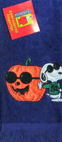 Joe Cool Halloween Fingertip Towel