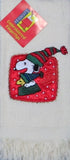 Snoopy Sledding Fingertip Towel