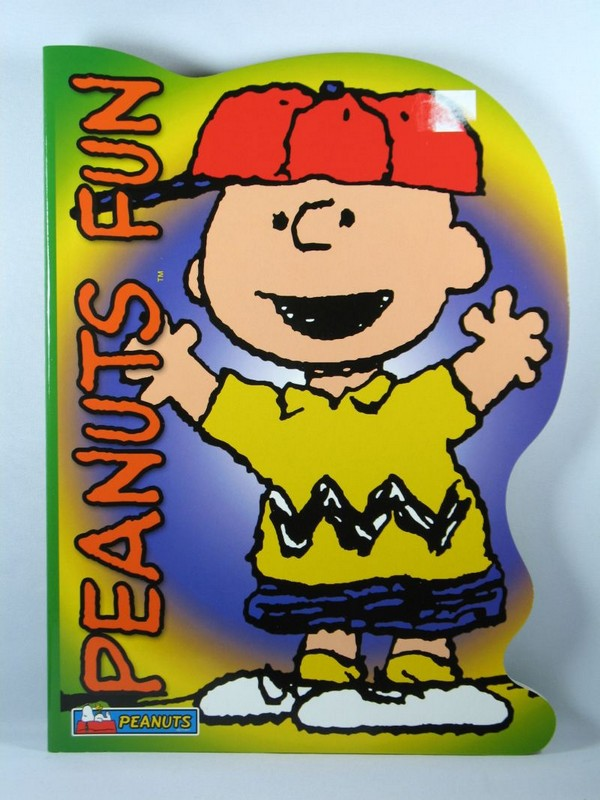Peanuts Fun Shaped Coloring Book - Charlie Brown
