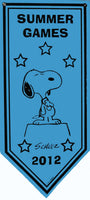 2012 San Diego Comic-Con Snoopy Summer Games Banner