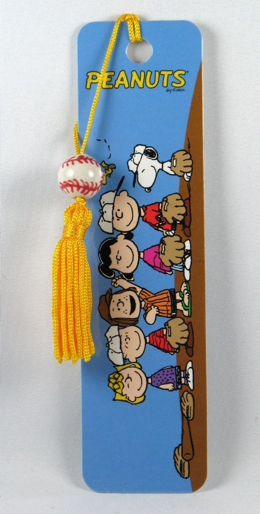 Peanuts Gang Baseball Team Beaded Book Mark