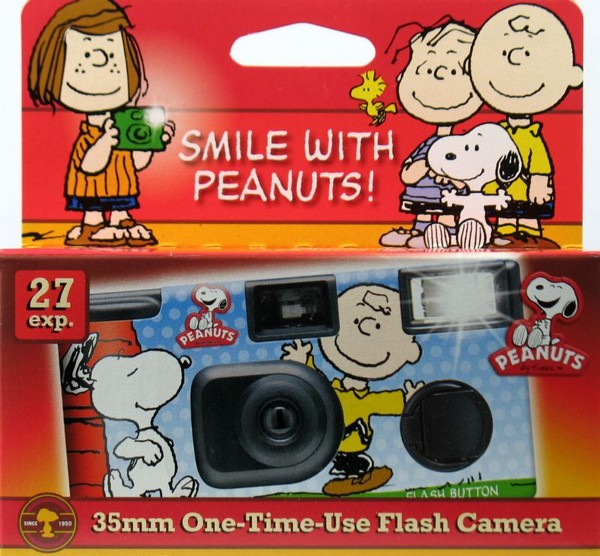 Peanuts Gang 35MM One-Time-Use Flash Camera