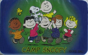 Camp Snoopy Mini Playing Cards