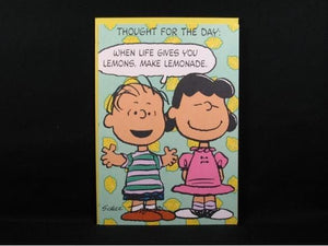 Friendship and Concern Card - Linus and Lucy