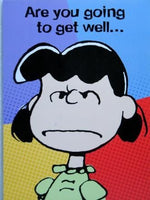 Get Well Card - Tough Lucy