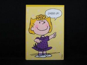 Get Well Card - Cheer From Sally