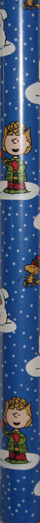 Peanuts Snowman Heavyweight Gift Wrap Roll - 65 Sq. Feet!