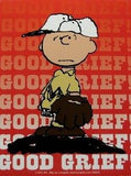 Charlie Brown Vinyl Sticker - Good Grief!