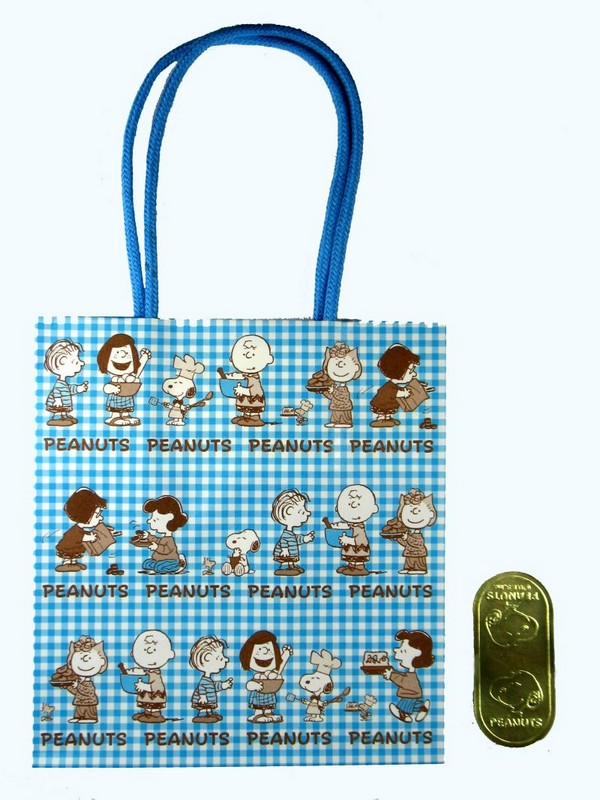 Peanuts Gang Gift Bag + Seal