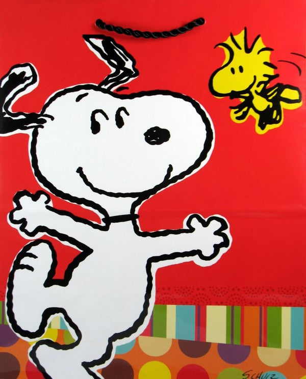 Snoopy and Woodstock Gift Bag