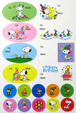 Snoopy Birthday Gift Tags