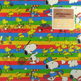 Snoopy Sports Gift Wrap