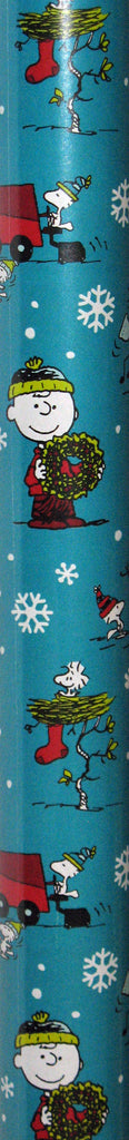 Peanuts Gang Holiday Gift Wrap Super Mega Roll - 60 Sq. Feet!