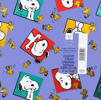 Happy Snoopy Vintage Gift Wrap