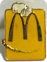 McDonald's Arch Lapel Pin - Snoopy (Yellow)