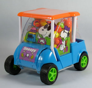 2012 Snoopy Easter Candy-Filled Golf Cart