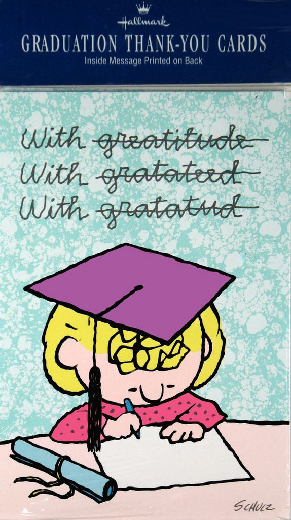 Sally Graduation Thank-You Cards