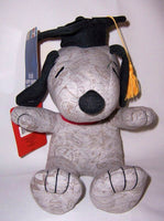 Hallmark Snoopy Graduation Doll With Gift Card Holder Hat