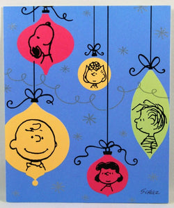 Christmas Card - Peanuts Gang