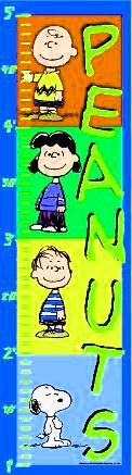 Peanuts Gang Growth Chart - ON SALE!